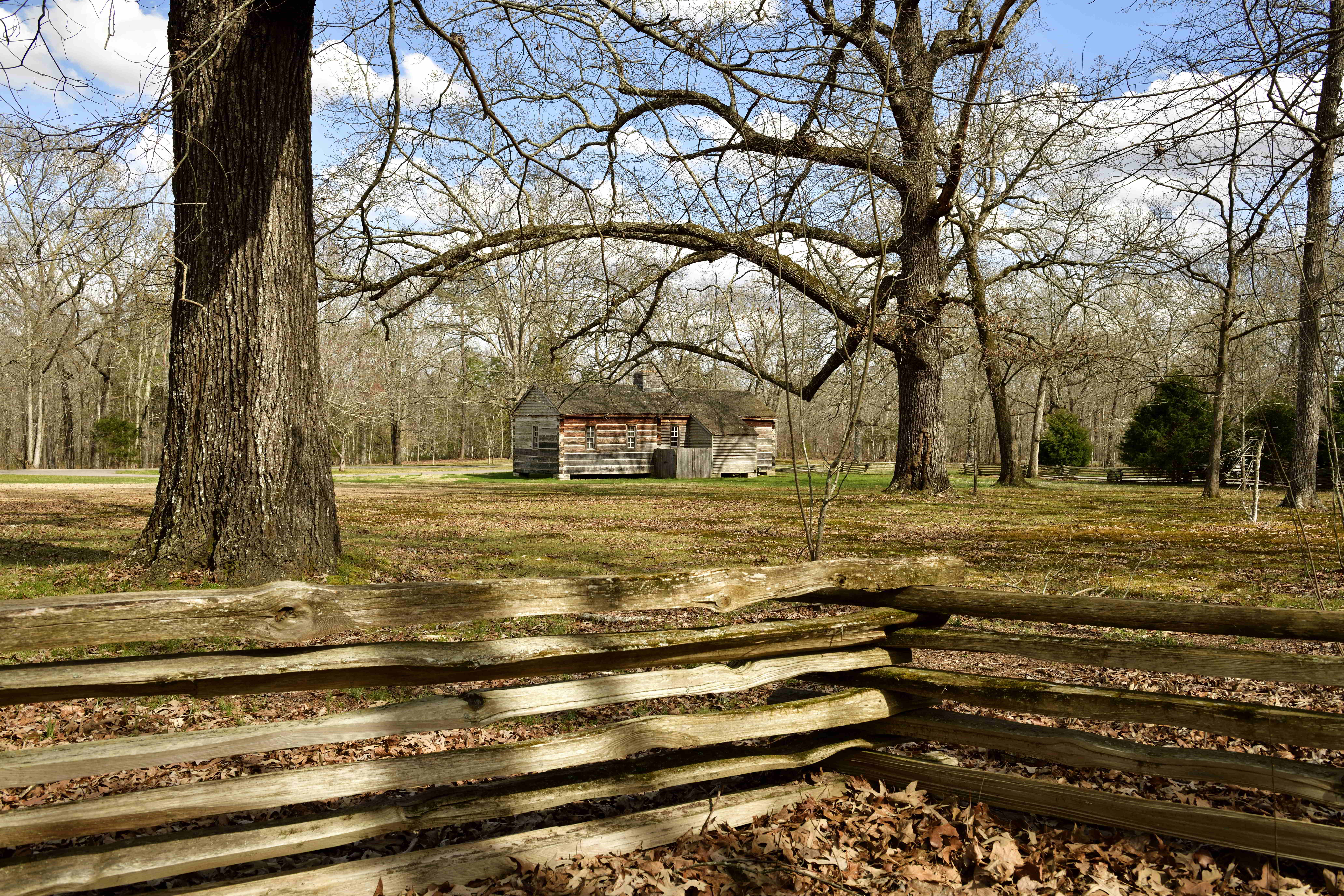 Natchez Trace From Tishomingo State Park to Hohenwald, Tennessee